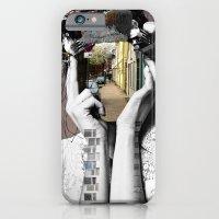 iPhone & iPod Case featuring Crazy Woman - Lara Lisa Bella by Marko Köppe