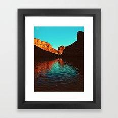 Deep Reflections Framed Art Print