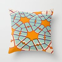 Retro Texture Throw Pillow
