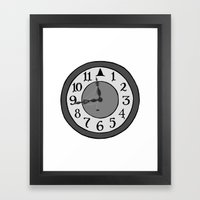 The Witching Hour Framed Art Print