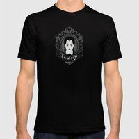 Wednesday Mens Fitted Tee Black SMALL
