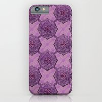 iPhone Cases featuring Mandala 01 by NENE W