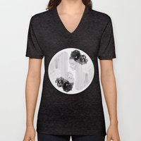 selene and eos (black and white) Unisex V-Neck