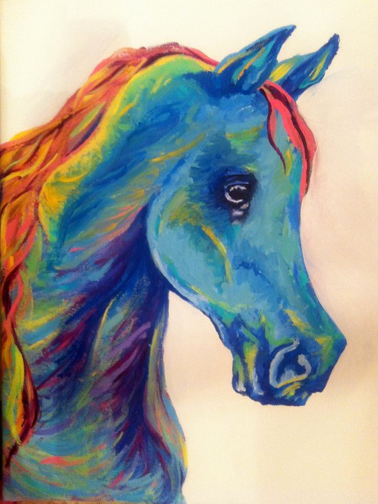 Horse-Head Hues Art Print