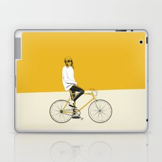 The Yellow Bike Laptop & iPad Skin