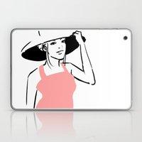 Pink Top Laptop & iPad Skin