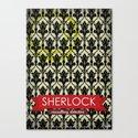 Sherlock Poster 1 Canvas Print