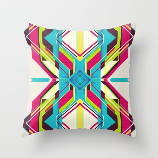 Connected Generation Throw Pillow