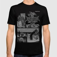 Dragon Spirit Mens Fitted Tee Black SMALL