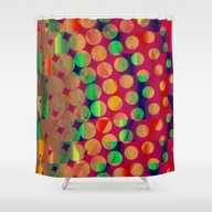 Dance Club Shower Curtain