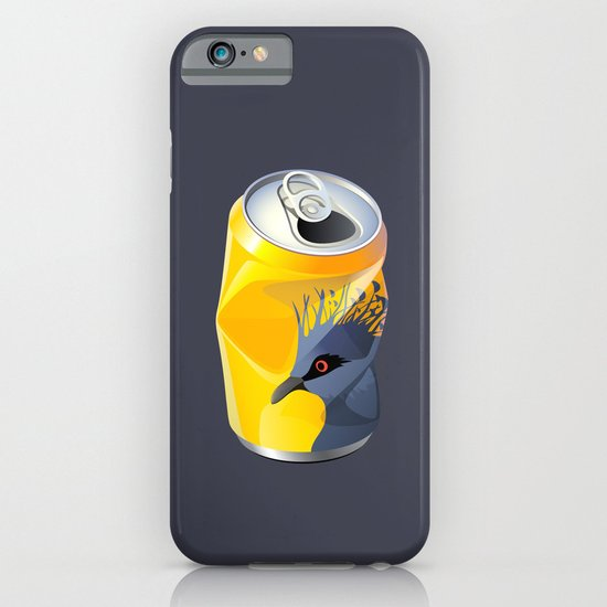 Victoria Crowned Pigeon iPhone & iPod Case