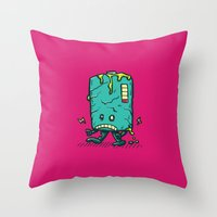 Night Of The Living Dead… Throw Pillow