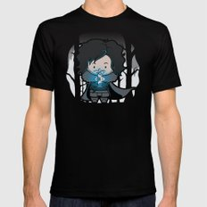 Ghost? Mens Fitted Tee Black SMALL