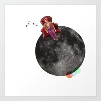 We're All Stories In The… Art Print