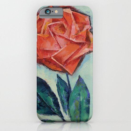Origami Rose iPhone & iPod Case