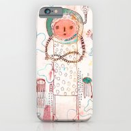 iPhone & iPod Case featuring Waiting by Nayoun Kim