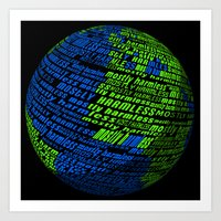 Mostly Harmless Art Print