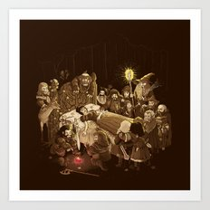 An Unexpected Journey Art Print