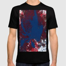 I Am So Pixed Right Now... Mens Fitted Tee Black SMALL