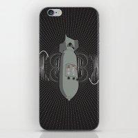 Bomb Bass iPhone & iPod Skin