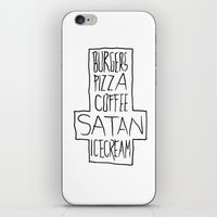 pizza & moar iPhone & iPod Skin