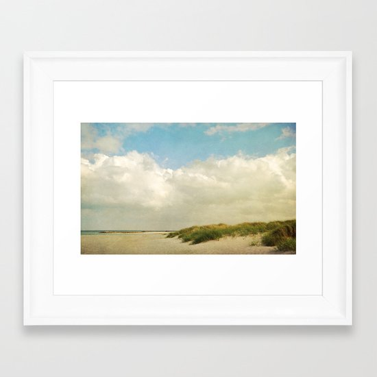 Baltic Sea impression Framed Art Print