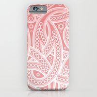 iPhone & iPod Case featuring Pink Pattern by Cloz000