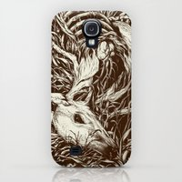 Galaxy S4 Cases featuring doe-eyed by Teagan White