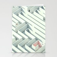 Wrong Way Street Stationery Cards