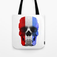 Polygon Heroes - The Patriot Skull Tote Bag