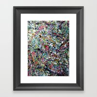 After Pollock Framed Art Print