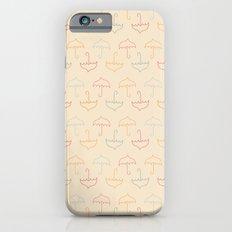 UMBRELLA - PEACH iPhone 6 Slim Case