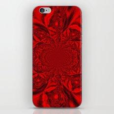Red Kaleidoscope iPhone & iPod Skin