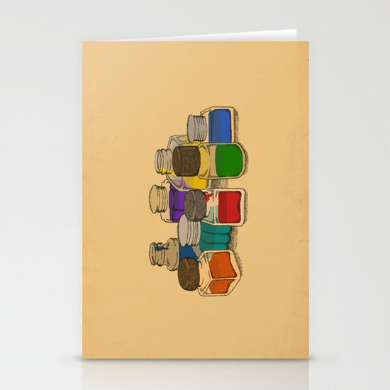 Ink Stationery Card