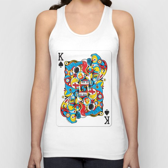 King Of Spades Unisex Tank Top