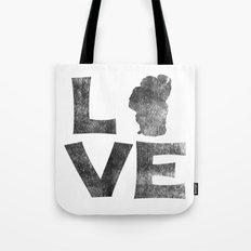 LOVE Tahoe inked Tote Bag