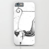 iPhone & iPod Case featuring Hanging Around by Red Lady Locks