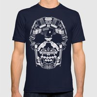 TAKE YOUR CHANCES Mens Fitted Tee Navy SMALL