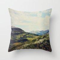 Mountain Spirit Throw Pillow