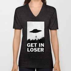Get In Loser Unisex V-Neck