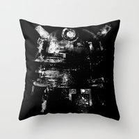 Dalek Throw Pillow