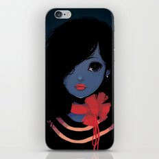 Blue. iPhone & iPod Skin