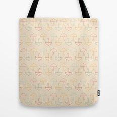 UMBRELLA - PEACH Tote Bag