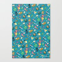 Dungeons & Patterns Canvas Print