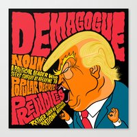 Demagogue Canvas Print