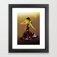 DANCERS - La Fiesta Framed Art Print