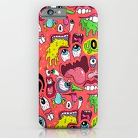 iPhone & iPod Case featuring Gross Pattern by Chris Piascik