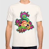 SnakeEyes Mens Fitted Tee Natural SMALL