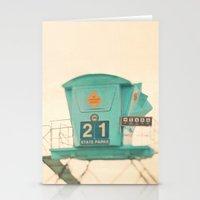 Beach Photograph, Lifegu… Stationery Cards