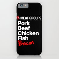 5 Major Meat Groups iPhone 6 Slim Case